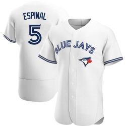 Santiago Espinal Toronto Blue Jays Men's Authentic Home Jersey - White
