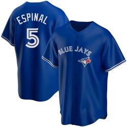 Santiago Espinal Toronto Blue Jays Men's Replica Alternate Jersey - Royal