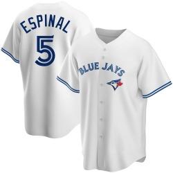 Santiago Espinal Toronto Blue Jays Men's Replica Home Jersey - White