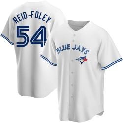 Sean Reid-Foley Toronto Blue Jays Men's Replica Home Jersey - White