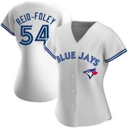 Sean Reid-Foley Toronto Blue Jays Women's Authentic Home Jersey - White