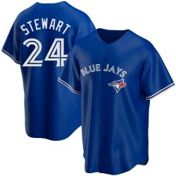 Shannon Stewart Toronto Blue Jays Men's Replica Alternate Jersey - Royal