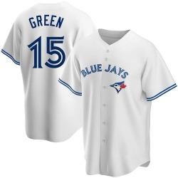 Shawn Green Toronto Blue Jays Men's Replica Home Jersey - White
