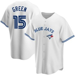 Shawn Green Toronto Blue Jays Youth Replica Home Jersey - White