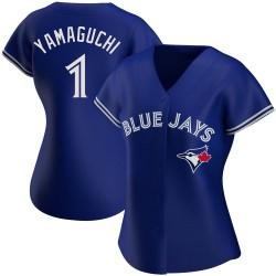 Shun Yamaguchi Toronto Blue Jays Women's Authentic Alternate Jersey - Royal