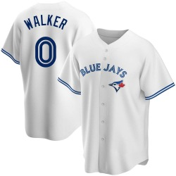 Taijuan Walker Toronto Blue Jays Men's Replica Home Jersey - White