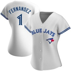 Tony Fernandez Toronto Blue Jays Women's Authentic Home Jersey - White