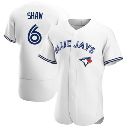 Travis Shaw Toronto Blue Jays Men's Authentic Home Jersey - White