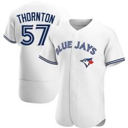 Trent Thornton Toronto Blue Jays Men's Authentic Home Jersey - White