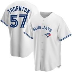 Trent Thornton Toronto Blue Jays Men's Replica Home Jersey - White