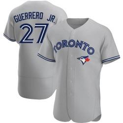 Vladimir Guerrero Jr. Toronto Blue Jays Men's Authentic Road Jersey - Gray